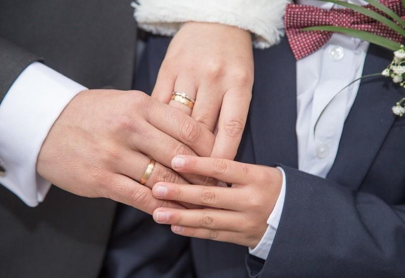 シングルマザーの結婚式