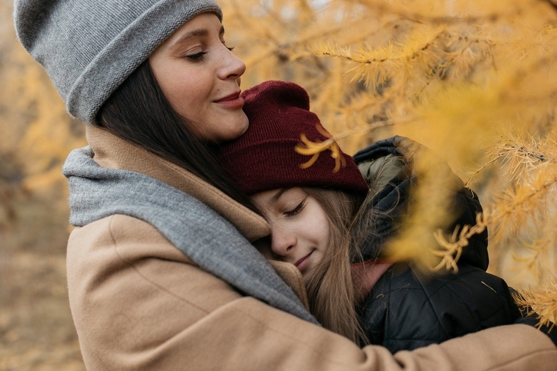 子供を愛しているシングルマザー